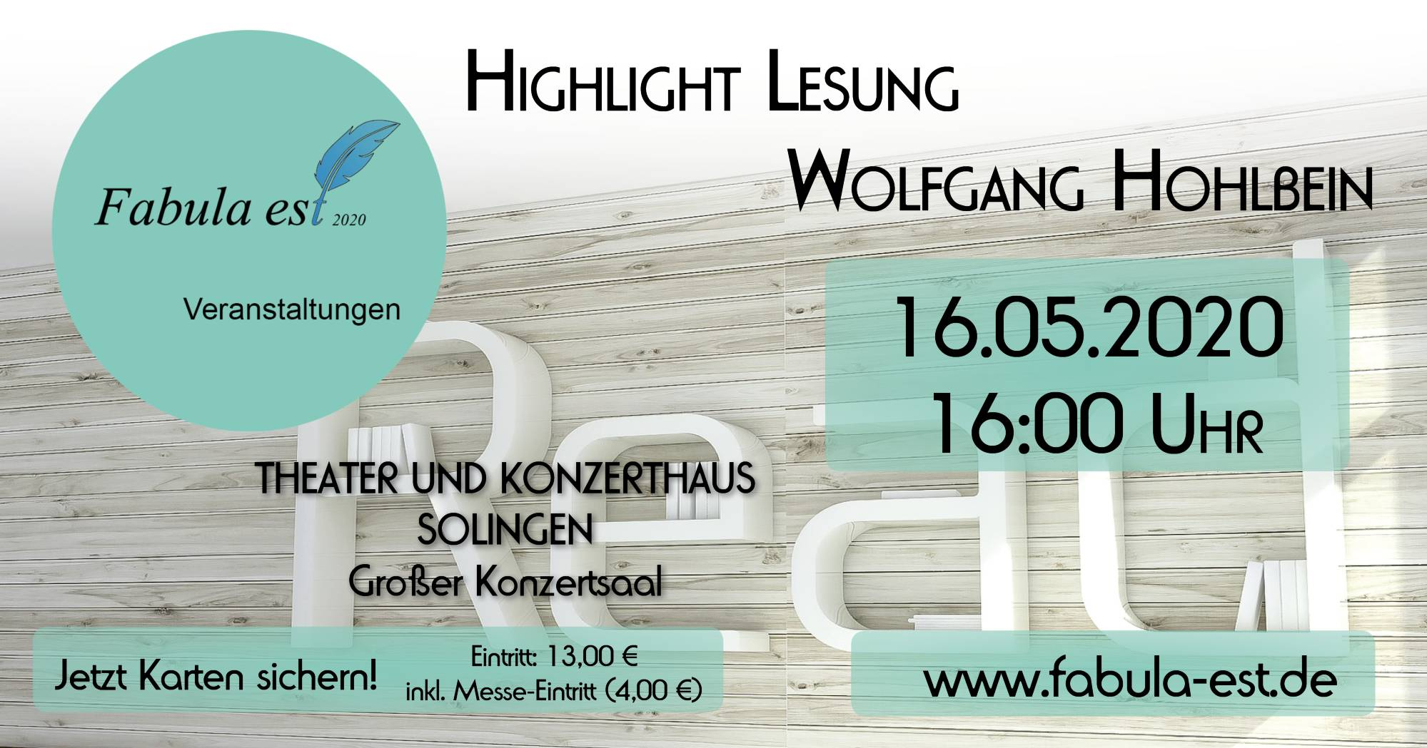 Lesung_WolfgangHohlbein19.05.20